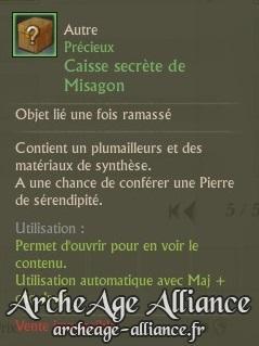 Caisse secrète de Misagon