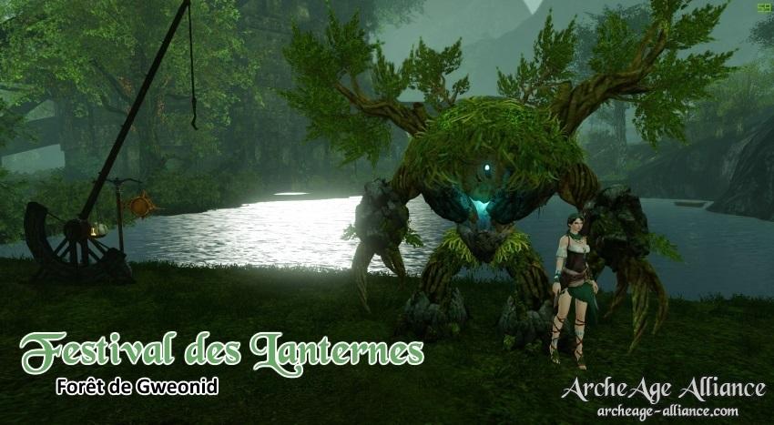 Événement : Festival des Lanternes à la Forêt de Gweonid