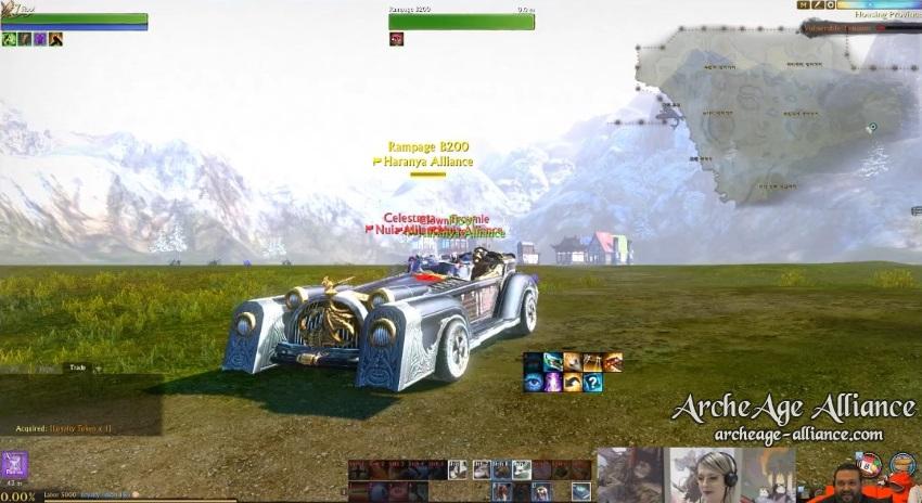 Nouvelle voiture sur ArcheAge