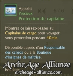 Protection de capitaine