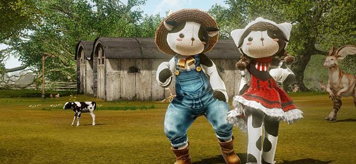 Costumes de laitiers sur la boutique ArcheAge
