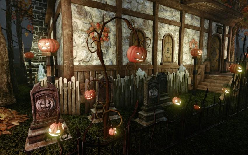 Meubles sur le thème d'Halloween