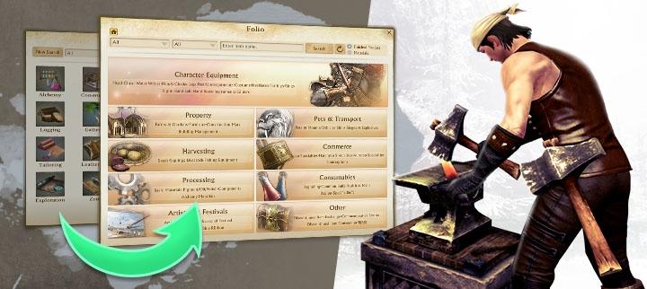 Changements des systèmes d'ArcheAge 4.0