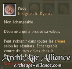 Insigne de Kyrios