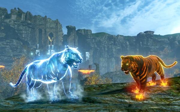 Tigre de feu, tigre de glace