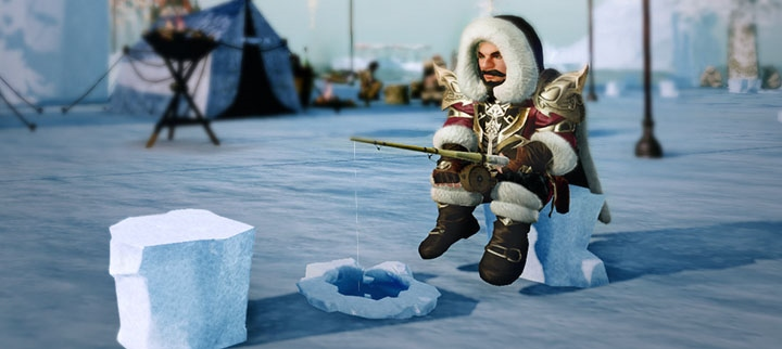 Festival de pêche sous la glace