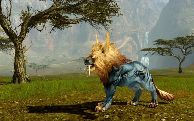 Lion du mirage (monture)