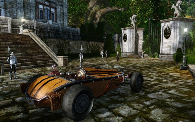 Coupé sylvestre, véhicule sur ArcheAge