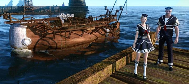 Moby Drake, un navire de pêche en référence au roman Moby Dick