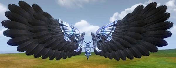 Planeur ailes de la terreur