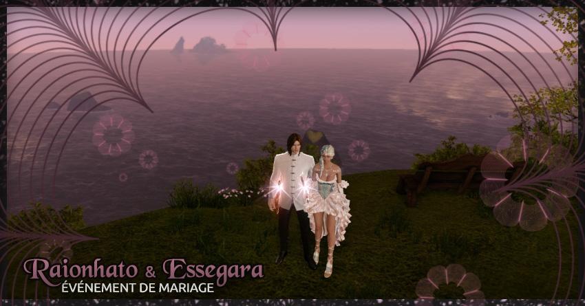 Mariage sur ArcheAge d'Essegara et Raionhato