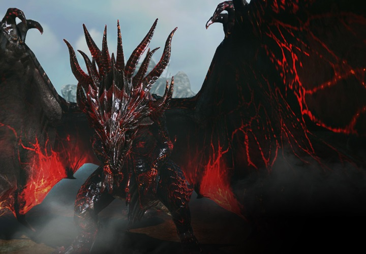 Dragon noir Ferath, le nouveau world boss de Karkasse (raid)