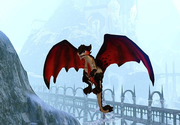 Familier Perle de lave (petit dragon rouge)