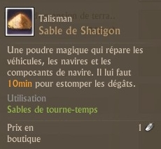 Sable de Shatigon