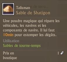 Sable de Shatigon