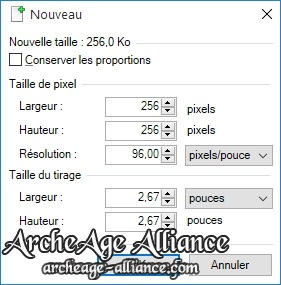 Nouveau document Paint.NET