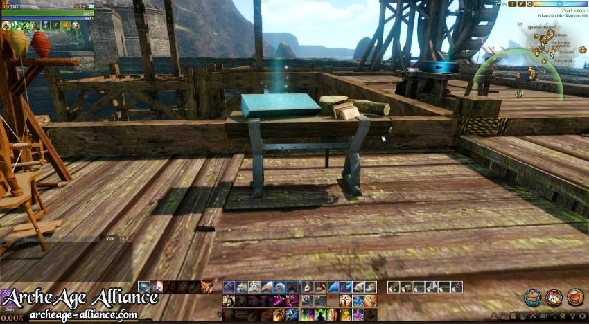 Station de sciage pour le bois