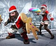 Festivités hivernales en jeu