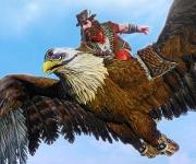 Planeur aigle et promo sur les packs de crédits