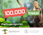 Événement caritatif GamigoTrees prolongé jusqu'au 10 mai