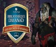 Présentation des secrets d'Ayanad - la Bibliothèque d'Ayanad
